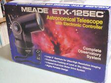 Meade Etx-125Ec - Astronomical Terrestrial Telescope with Electronic Controller