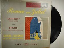 33 RPM Vinyl Tchaikovsky Berlioz Romeo & Juliet  RCA Victor Records   010815SM
