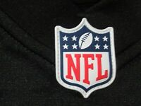 OFFICIAL NFL WHITE ON-FIELD GAME JERSEY SHIELD PLASTIC PATCH