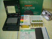 New! Print Gocco PG-10 with 5 Master 10 Lamp 7 ink B6 Screen printer postcard