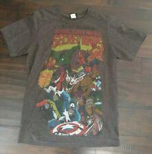 Marvel Super Heroes Secret Wars Avengers #1 Issue T Shirt Tee Comic Book SZ S