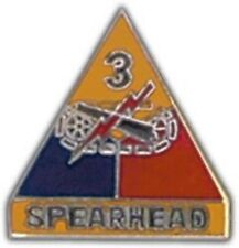 ARMY 3RD ARMORED DIVISION SPEARHEAD MILITARY PIN