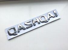1 X Nissan QASHQAI Logo Rear Boot Emblem Car Badge