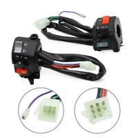 For Yamaha Virago XV250 XV125 RD350 SRX600 Left & Right Handlebar Switch Control