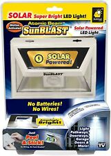 Atomic Beam SunBlast Solar Powered LED Light, As Seen On TV