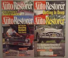 Vtg Lot of 4 Classsic Auto Restorer Magazine How to Jan Feb March April 1997