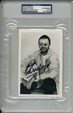 RINGO STAR Signed Photo Encapsulated PSA/DNA Certified
