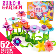 Toys for Kids Girl Age 3 4 5, Flowers Toys Set Gifts for 3-7 Year Old Kid Girls