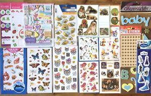 Stickersammlung Kids Sticker Stickers Aufkleber, Basteln, #Set Z139