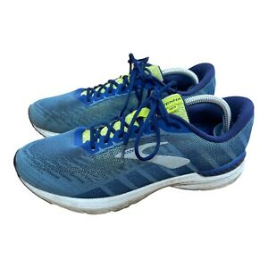 Brooks Ravenna 10 Athletic Running Gym Shoes Trainers 8.5 D Blue 1102981D429