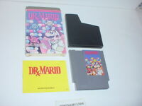 DR. MARIO game complete in box w/ Manual - Nintendo NES