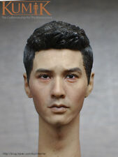 KUMIK Won Bin Head Sculpt 1/6th KM16-66 Male Head Model F 12'' Man Body