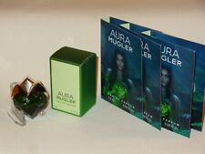 "5 ml EdP ""AURA"" + 3 x 1,2 ml  EdP Spray Proben / Duftproben / Phiolen v.Mugler 1"