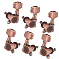 6 Pieces Left Acoustic Guitar Tuners Tuning Pegs Keys Machine Heads
