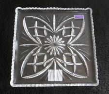 NIB Waterford Marquis Newberry Lead Crystal Square Tray Made in Germany Beautifu