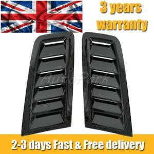 ABS plastic bonnet vents For Focus RS MK2 style *FORD PROFILE* universal oe