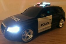 POLICE CAR AUDI Q5 RADIO REMOTE CONTROL CAR SIREN LIGHTS FAST SPEED  1:18