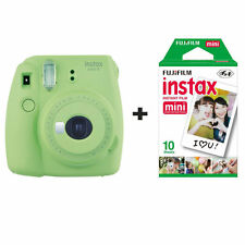 Fuji Fujifilm Instax Mini 9 Instant Camera with 10 Shots - Lime