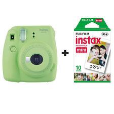 Fuji Fujifilm Instax Mini 9 fotocamera istantanea con 10 scatti-Lime
