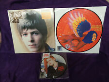 David Bowie RSD Lot of 3 LP The Man Who Sold The World + 1966 +  TVC15  SEALED