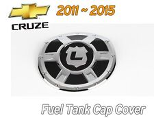 Fuel Gas Tank Door Cap Cover Chrome Molding 1P for Chevy Holden CRUZE 2011~2015