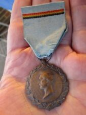 Original Wwi Belgium Political Prisoners Medal 1914/18 ~ Big Collection!