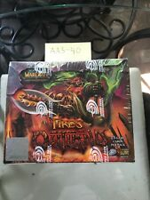 World of Warcraft Factory sealed Fires of Outland Booster Box Spectral Tiger set