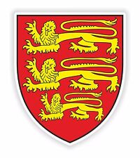 England Sticker United Kingdom Coat of Arms for Bumper Laptop Tablet Helmet