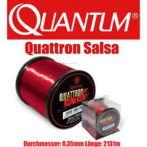 1m=0,02€ Quantum Quattron Salsa 0,35mm 2131m  Karpfen Schnur Angelschnur monofil