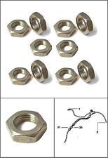 LAND ROVER Series 2, 2a & 3 Brake Hose HALF LOCKING NUTS ( 10 Pack )