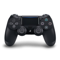 Black Sony PS4 PlayStation 4 DualShock 4 Wireless Controller (For Parts)