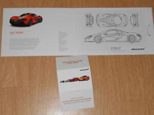 McLAREN hypercar P1 concept-car dossier de presse media press kit - Paris 2012