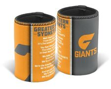 Western Giants AFL TEAM SONG Beer Can Bottle Cooler Stubby Holder