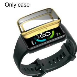 Soft TPU Watch Cover Shell Screen Protector Case For huawei 6 Honor Band T5R2