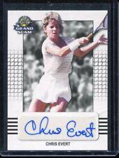 2018 Leaf Grand Slam Tennis Chris Evert Base Auto Autograph