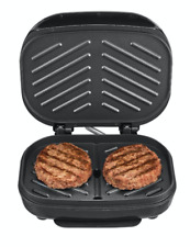 2 Burger Electric Grill Healthy Eating Hamburgers Small Kitchen Appliance Gift