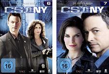 § 12 DVDs * CSI : NY - SEASON 6 + 7 IM SET # NEU OVP