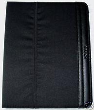 NWT COACH BLACK VARICK NYLON iPAD 1, 2, 3, 4 CASE STAND $128 LEATHER TRIM F61815