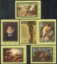 Russia 1977 Rubens/Artists/Art/Painting/Horses/Dog/Rainbow/Nude/Cart 5v (n39715)