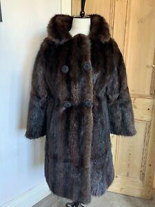 Beautiful Glossy 1960's Mink Coat