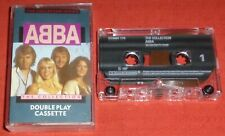 ABBA - UK DOUBLEPLAY CASSETTE TAPE - THE COLLECTION - (GREATEST HITS/BEST OF)