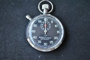 Vintage stopwatch Breitling Sprint