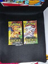 Pokemon Karten: Majestät der Drachen 2 Booster - Deutsch - OVP  Glurak§Reshiram