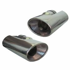 Genuine HST Benzina Di Scarico Tubo Di Scappamento Punta INOX FREELANDER 2 cromato a gas v6 3.2