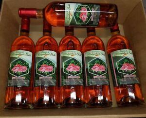 six bouteilles de vin perle rosé 75cl domaine montgaillard guille 11.5%