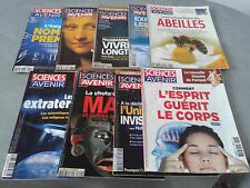 LOT SCIENCES ET AVENIR 9 MAGAZINES 2006 - 2007 - 2013