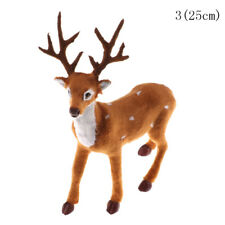 Christmas Simulation Plush Reindeer Xmas Elk Plush Toy Year Decorations ZY 25cm