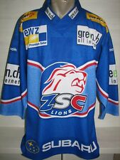 ZSC LIONS HOME SPECIAL JERSEY SWISS HOCKEY SIZE M