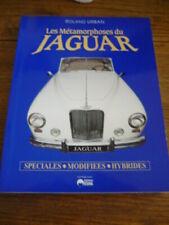 "RARE JAGUAR SPECIAL AND MODIFIED CARS, CAR BOOK ""LES METAMORPHOSES DU JAGUAR"""
