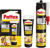 PATTEX MILLECHIODI FORTE E RAPIDO 100-250-400 gr HENKEL tubetto o cartuccia